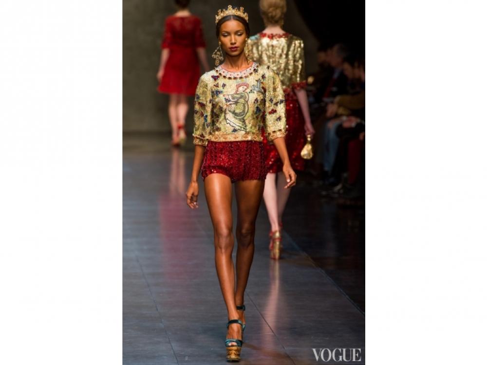 Dolce&Gabbana|Золотой цвет в одежде - Gabbana