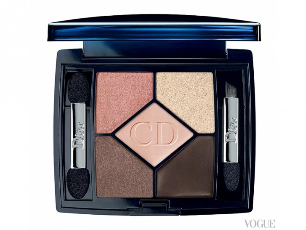 Палетка для макияжа глаз и бровей  5 Couleurs Lift, № 642 Lifting Amber, Dior