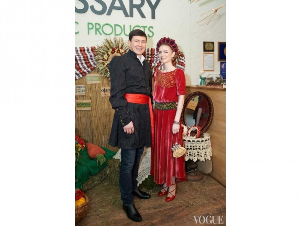 Дмитрий Кулибаба и Анастасия