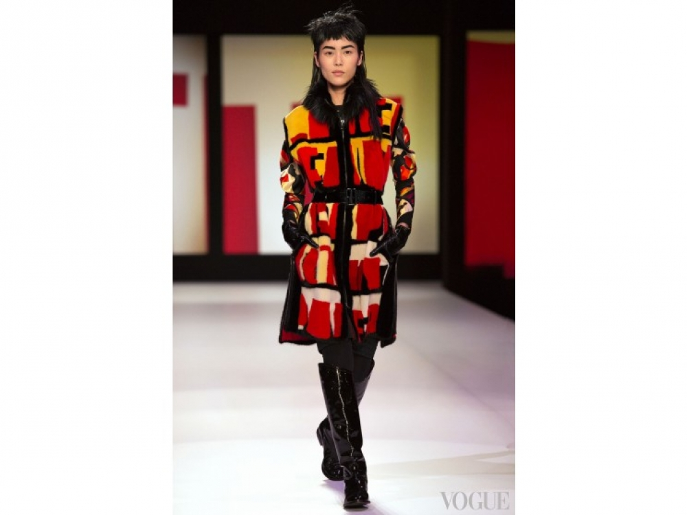 Jean Paul Gaultier|модные шубы Jean Paul Gaultier