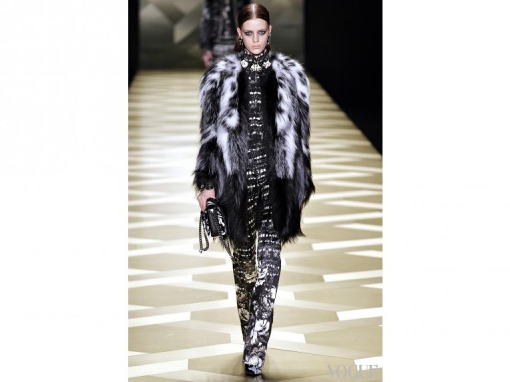 Roberto Cavalli|модные шубы Roberto Cavalli