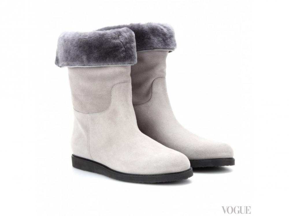 Salvatore Ferragamo|Зимние ботинки Salvatore Ferragamo