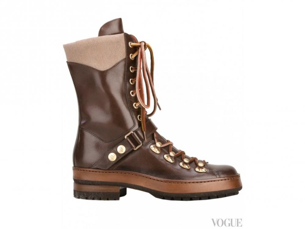Santoni|Зимние ботинки Santoni