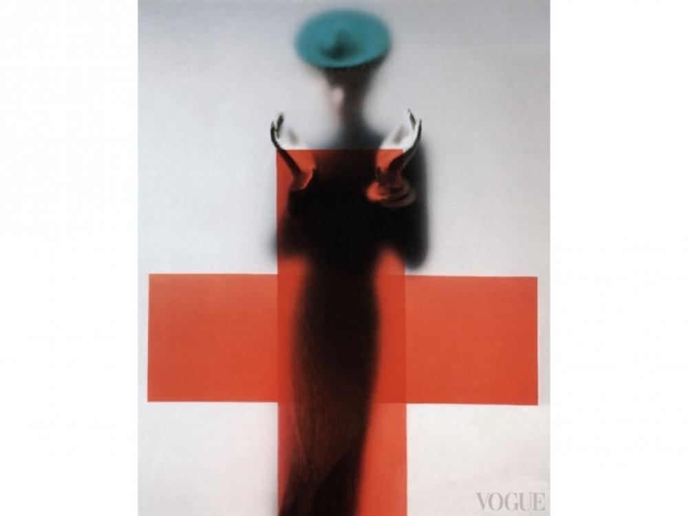 Автор - Эрвин Блюменфельд, американский Vogue,1945 год