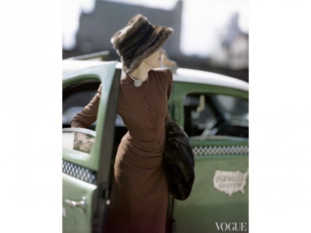 Работа Константина Йоффе для американского Vogue, 1945 год