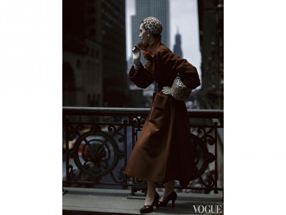 Работа Нормана Паркинсона, американский Glamour, 1949