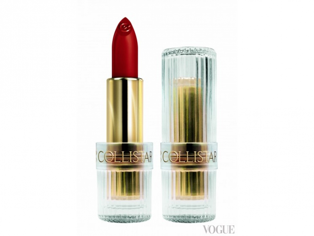 Помада Icon Lipstick Gold, № 6 Icon Red, Collistar|Красная помада Icon Lipstick Gold, № 6 Icon Red, Collistar