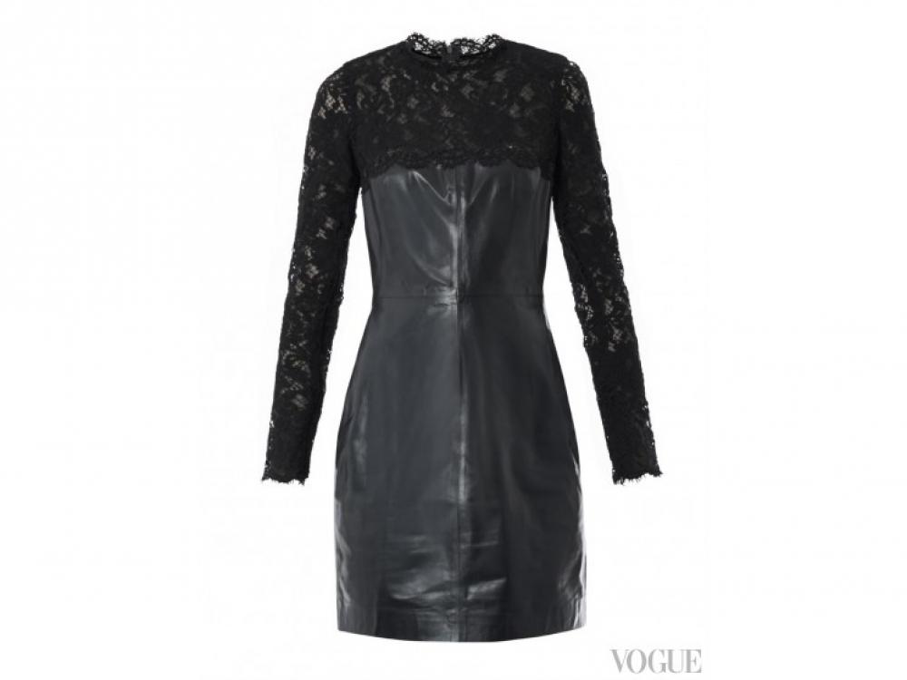 Valentino|Кожаное платье Valentino