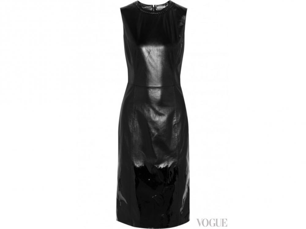 Bottega Veneta|Кожаное платье Bottega Veneta