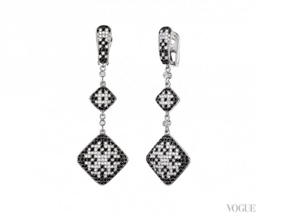 Серьги, OBERIG jewelry
