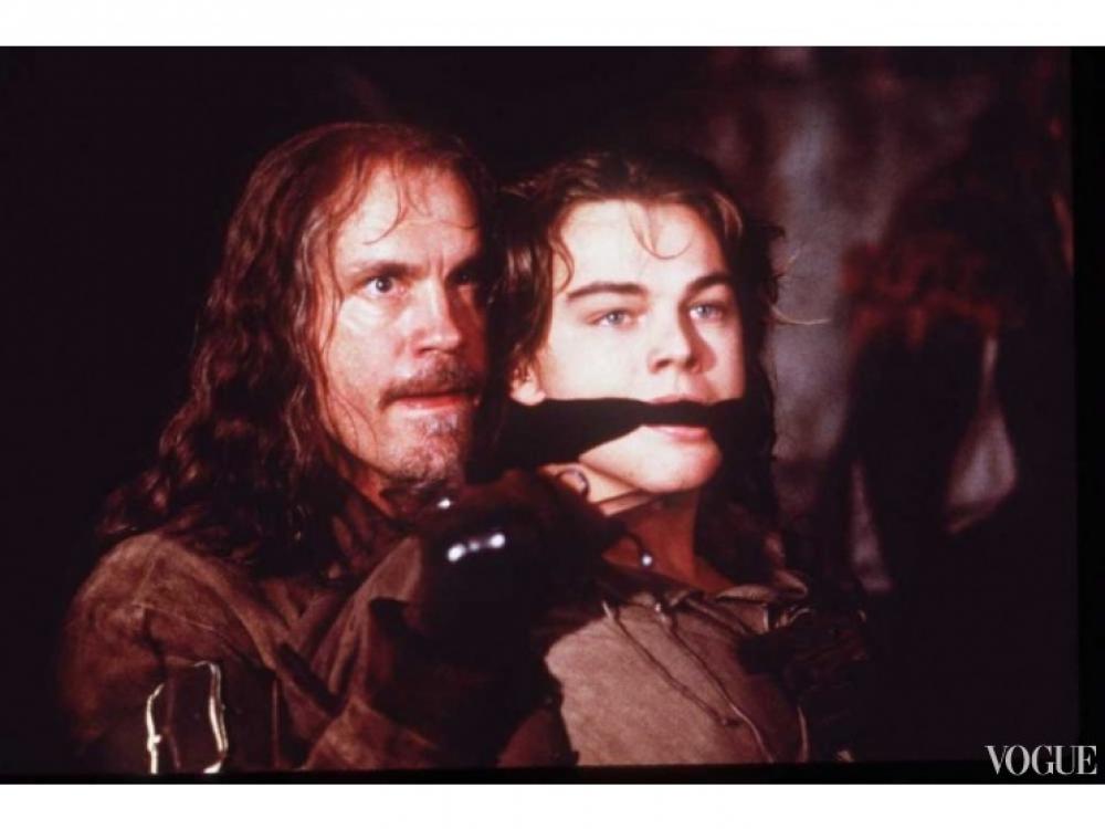 """Джон Малкович и Леонардо Ди Каприо, """"Человек в железной маске"""", 1998 год"""