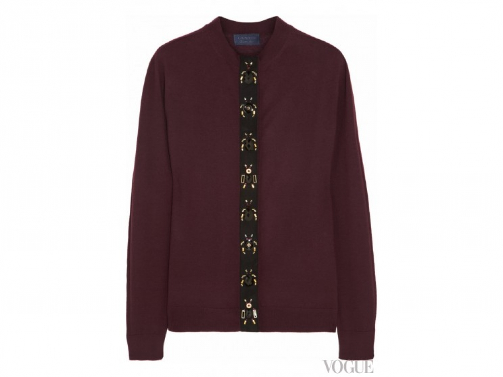Lanvin|Модные кардиганы Lanvin