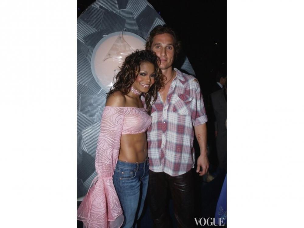 Мэттью МакКонахи и Джанет Джексон (1998 год)