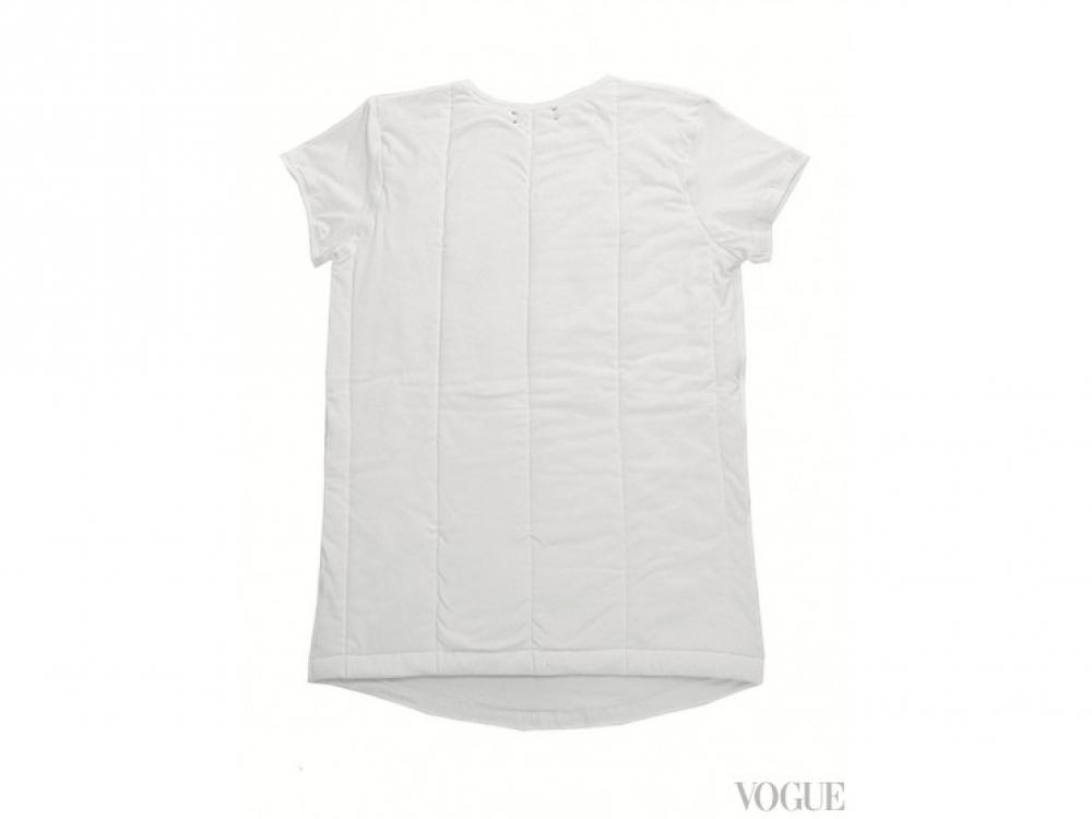 Стеганая футболка из хлопка, Ksenia Schnaider