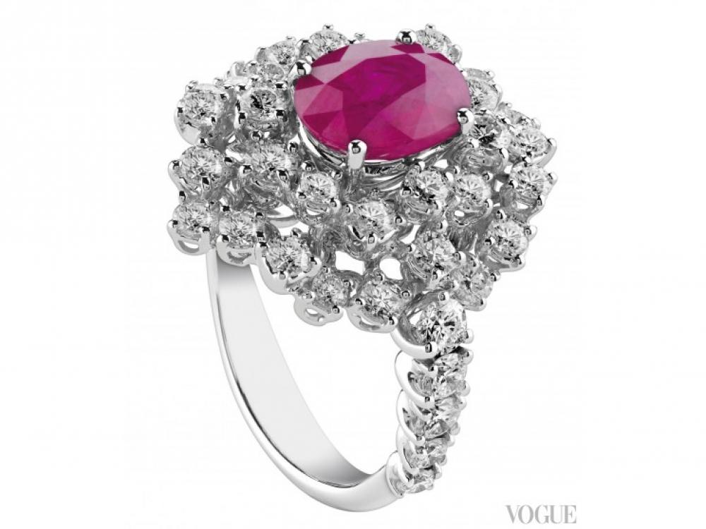 кольцо Damiani Anima|Подарки ко Дню Святого Валентина кольцо Damiani Anima