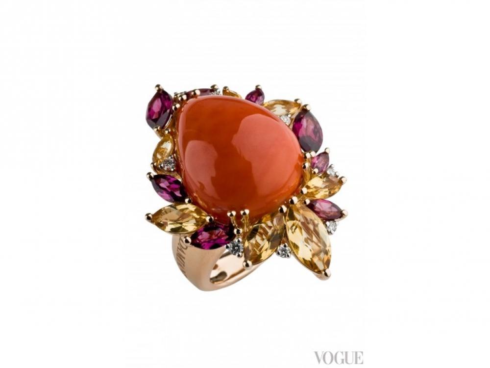 кольцо Damiani Dorotea|Подарки ко Дню Святого Валентина кольцо Damiani Dorotea