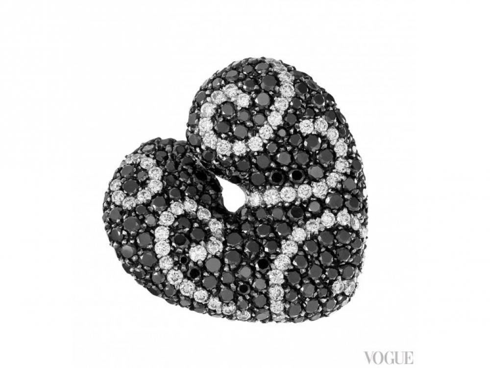 кольцо Palmiero Damasco Heart