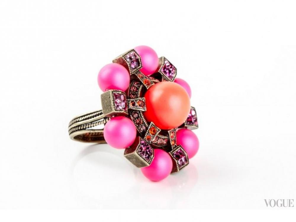 кольцо Lanvin|Подарки ко Дню Святого Валентина кольцо Lanvin