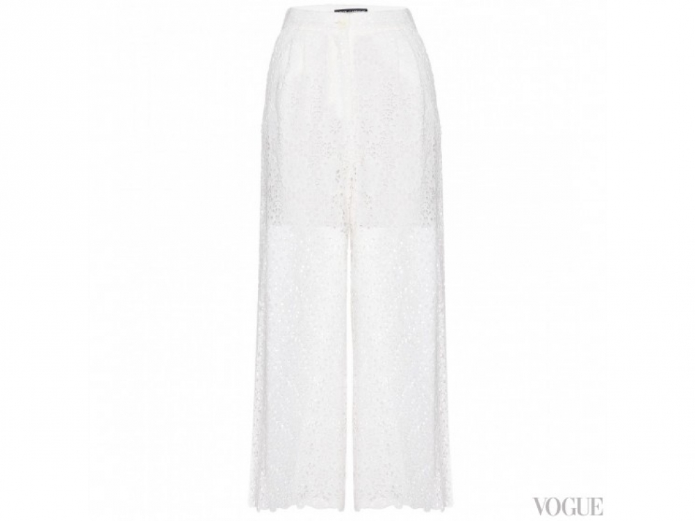 Dolce&Gabbana|Ажурные брюки Dolce&Gabbana