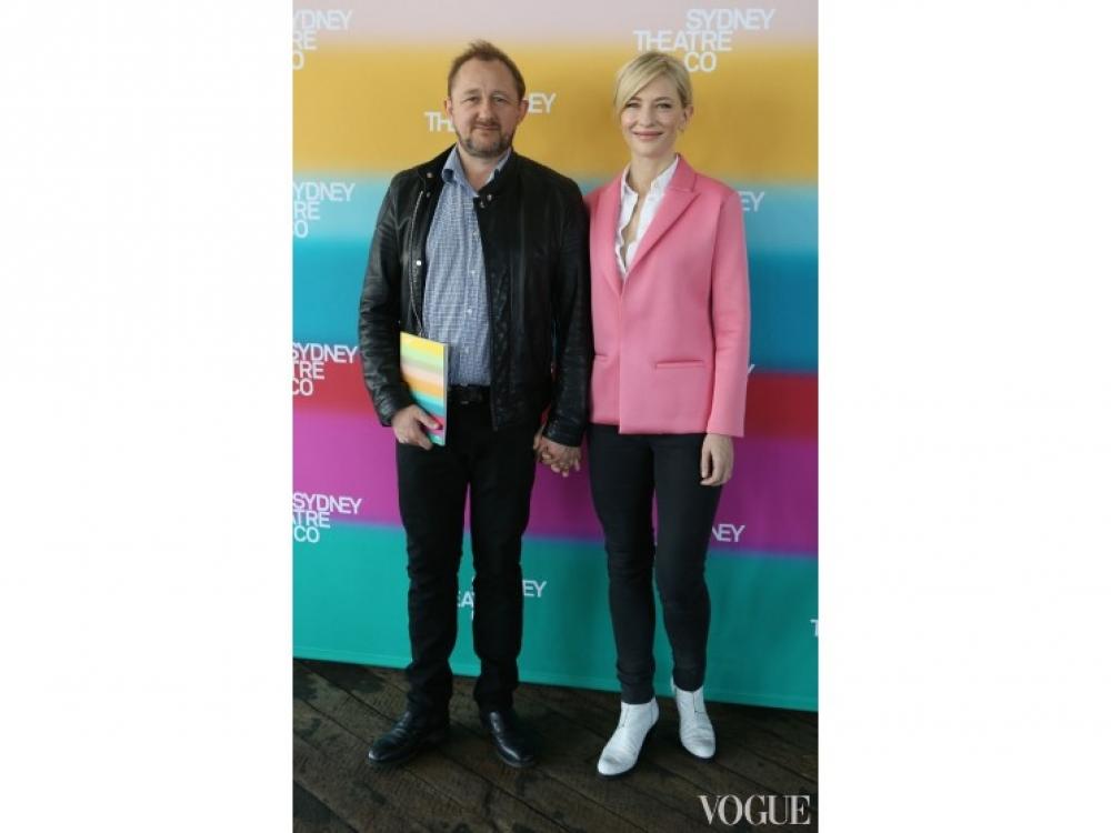 Кейт Бланшетт с супругом, драматургом Эндрю Аптоном