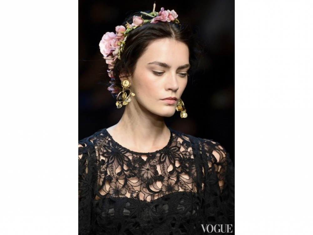 Dolce&Gabbana|Прически на День святого Валентина Dolce&Gabbana