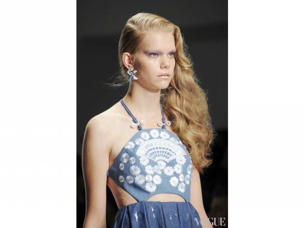 Holly Fulton|Прически на День святого Валентина Holly Fulton