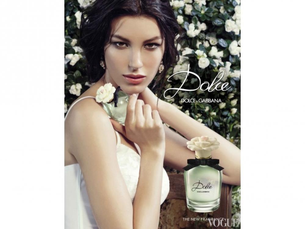 Кейт Кинг в рекламной кампании духов Dolce