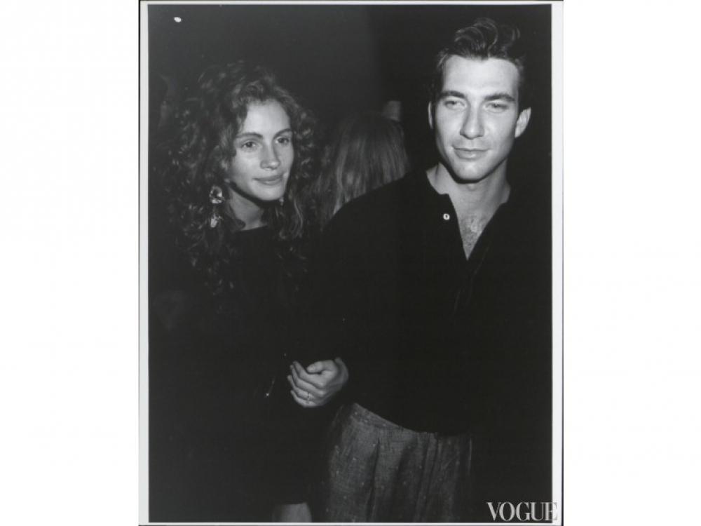 Джулия Робертс и Дилан Макдермат (1989)