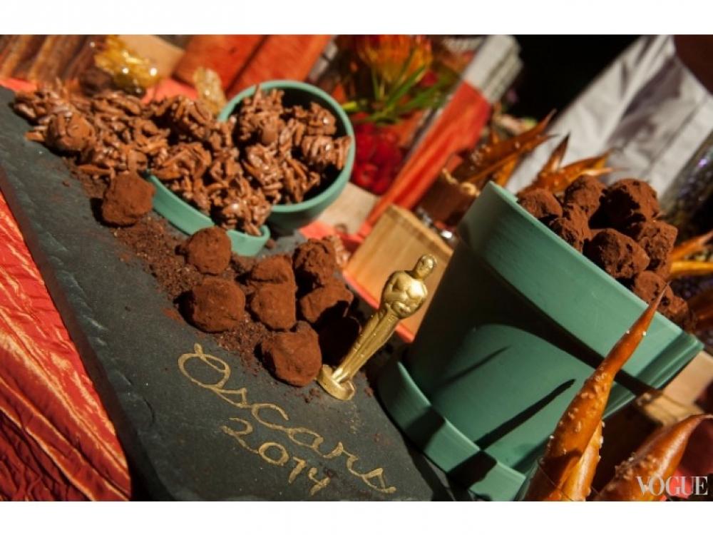 Шоколадные десерты - обязательный атрибут оскаровского ужина
