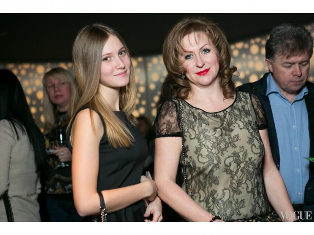Виктория Михайле с дочерью