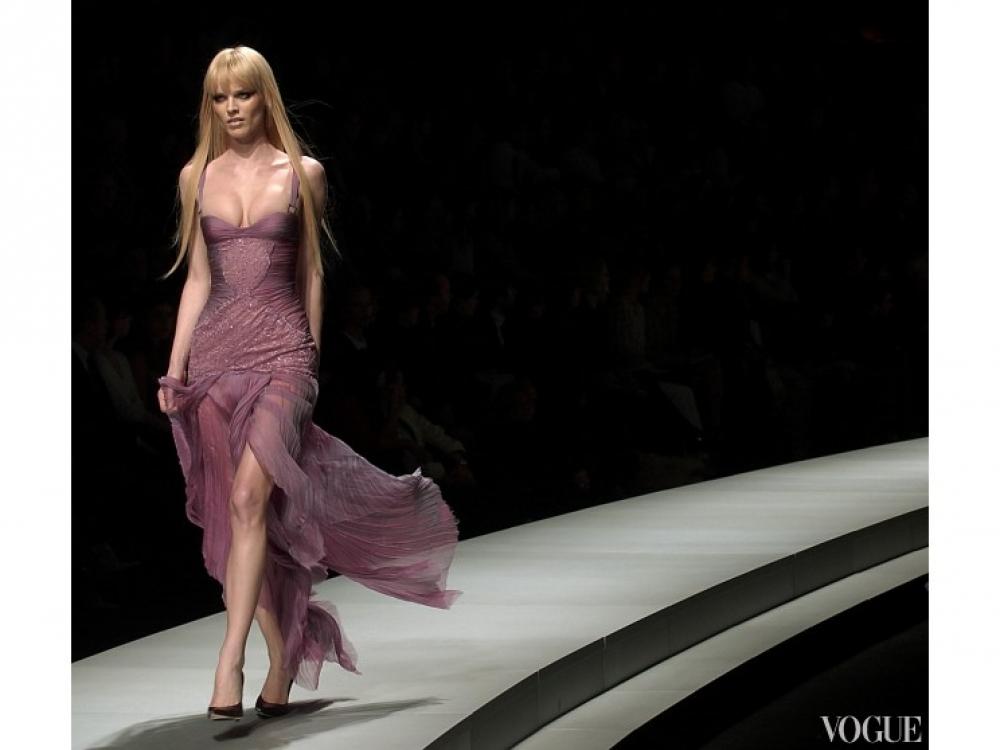 Versace осень-зима 2003/2004
