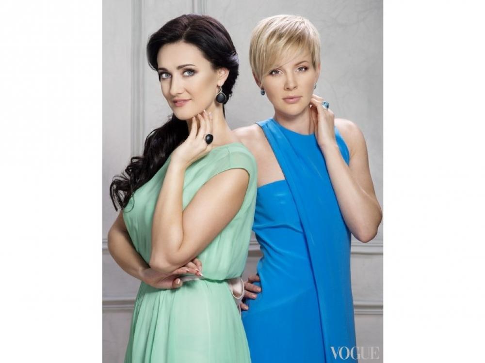 Марина Леончук и Соломия Витвицкая