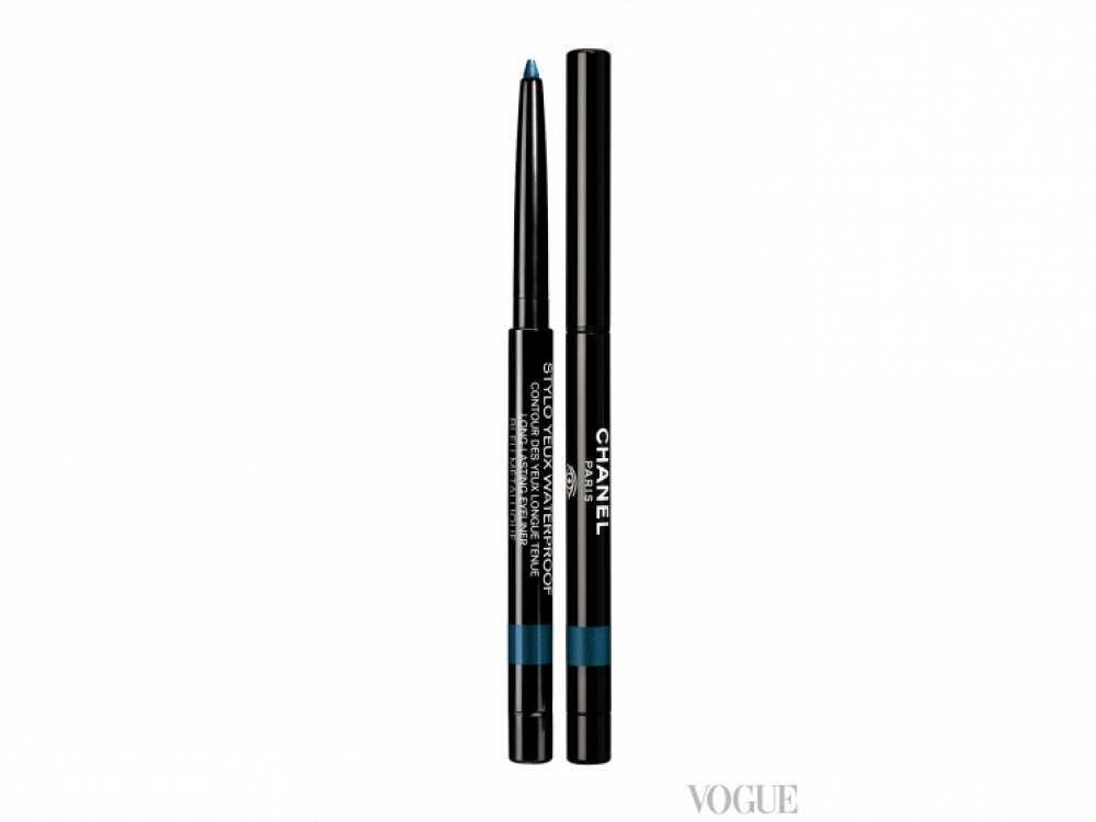 Карандаш для глаз Stylo Yeux Waterproof, № 909 Bleu M?tallique, Chanel
