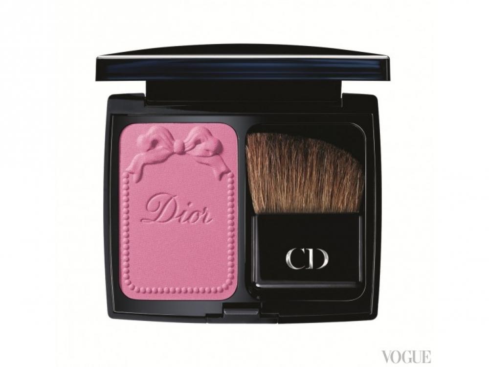 Пудровые компактные румяна Diorblush Trianon Edition, № 946 Pink Reverie, Dior