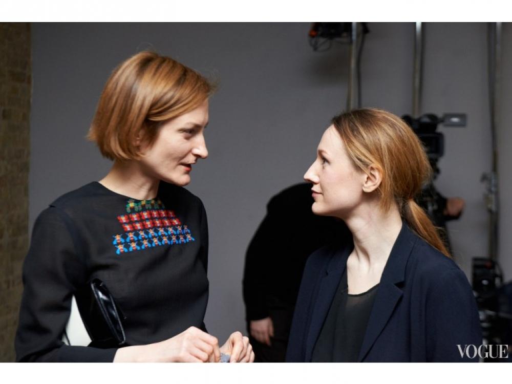 Татьяна Соловей и Василина Врублевская