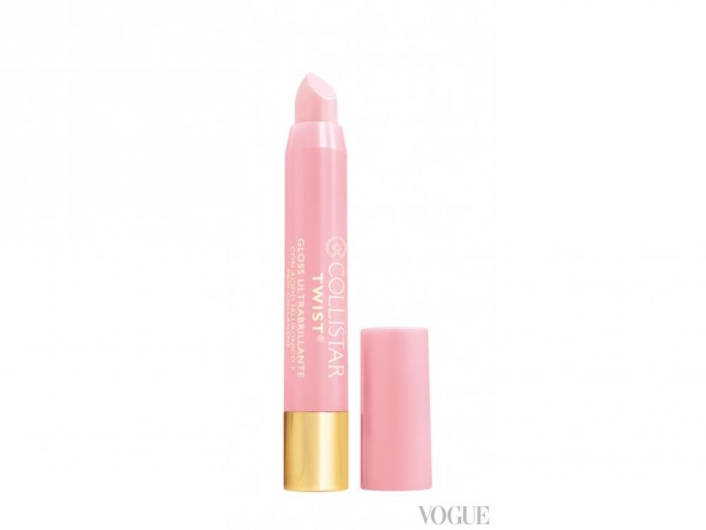 Блеск для губ Twist Ultra-Shiny Gloss, № 201 Transparent Pearl, Collistar