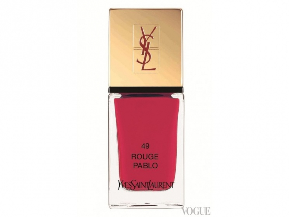 Лак La Laque Couture, № 49 Pablo, Yves Saint Laurent