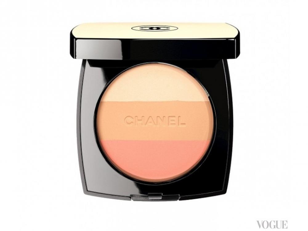 Трехцветная пудра Healthy Glow Multi-Colour, Chanel