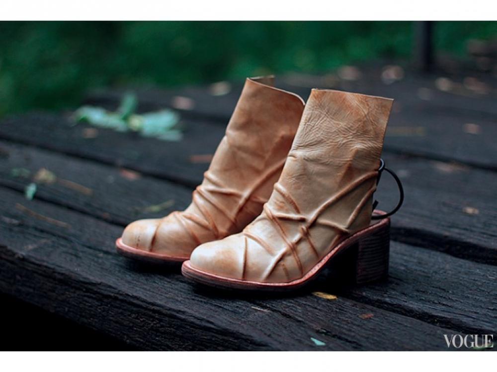 Ботинки из кожи, Kofta
