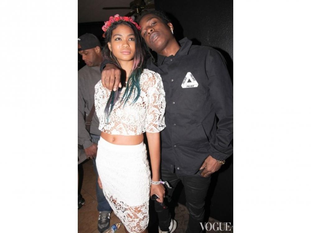 Шанель Иман и A$ap Rocky