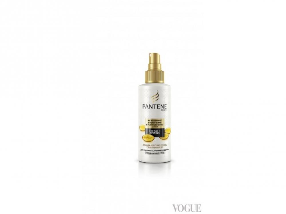 Несмываемый спрей для мгновенного увеличения густоты волос, «Густые и крепкие», Pantene Pro-V