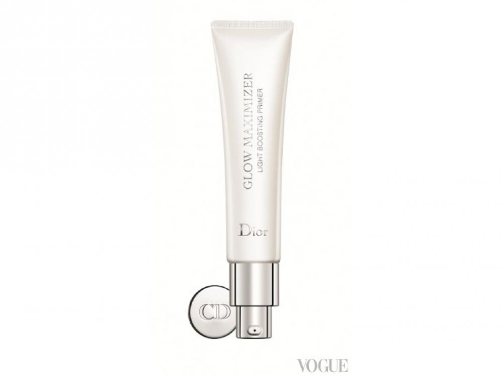 База под макияж с микроскопическими зеркальными частицами, усиливающая сияние, Glow Maximizer Light Boosting Primer, Dior