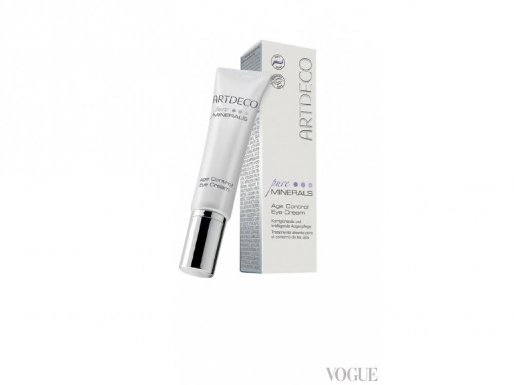 Корректирующий и укрепляющий крем для кожи вокруг глаз Age Control Pure Minerals, Artdeco