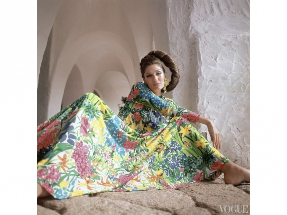 На модели: платье Ken Scott, 1967 год / Фото: Henry Clarke