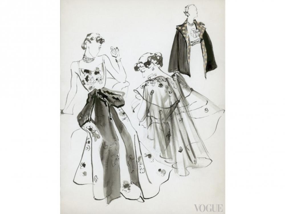 Май, 1935 год / Иллюстрация: Rene Bouet-Willaumez