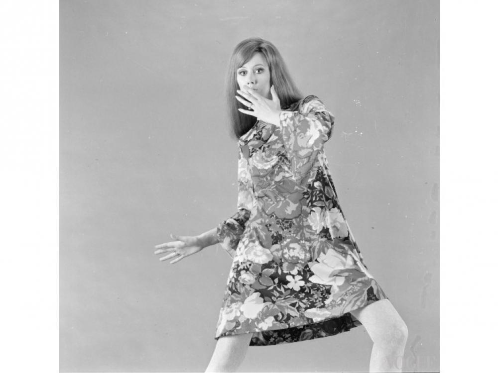 На модели: платье Ken Scott, 1966 год