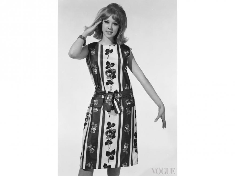 Модель Патти Бойд, 1962 год
