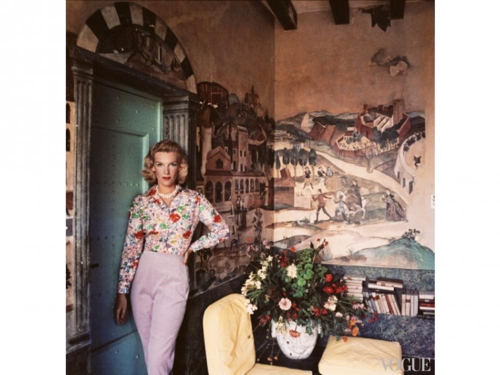 Виконтесса Харриет де Розьер, 1957 год