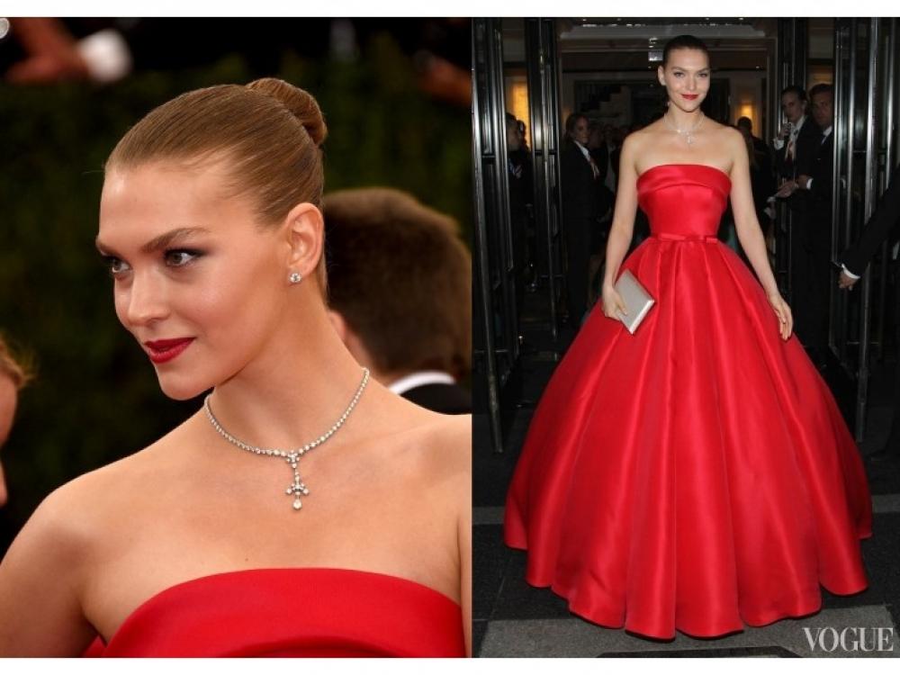 Аризона Мьюз в платье  Ralph & Russo Haute Couture