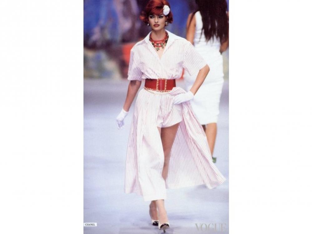 Chanel Spring 1992